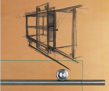 DORMA - Системы крепления стекла MANET Ambient.