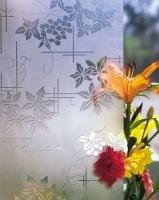 Химическое пескоструйное декорирование стекла