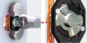 REHAU Line Design с механизмом Hoppe Secustik